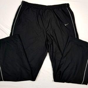 Nike XXL windpants lined athleric ankle zips